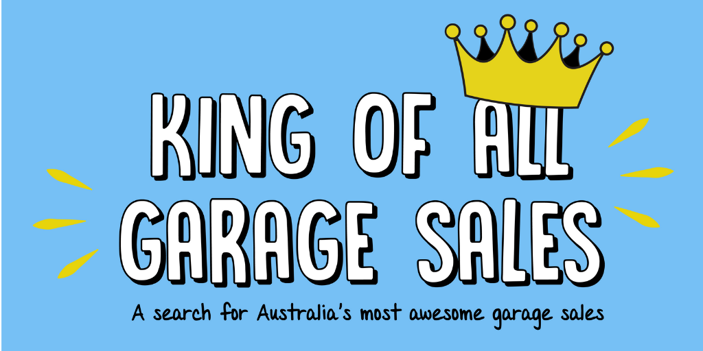 The Kings and Queens of the Garage Sale